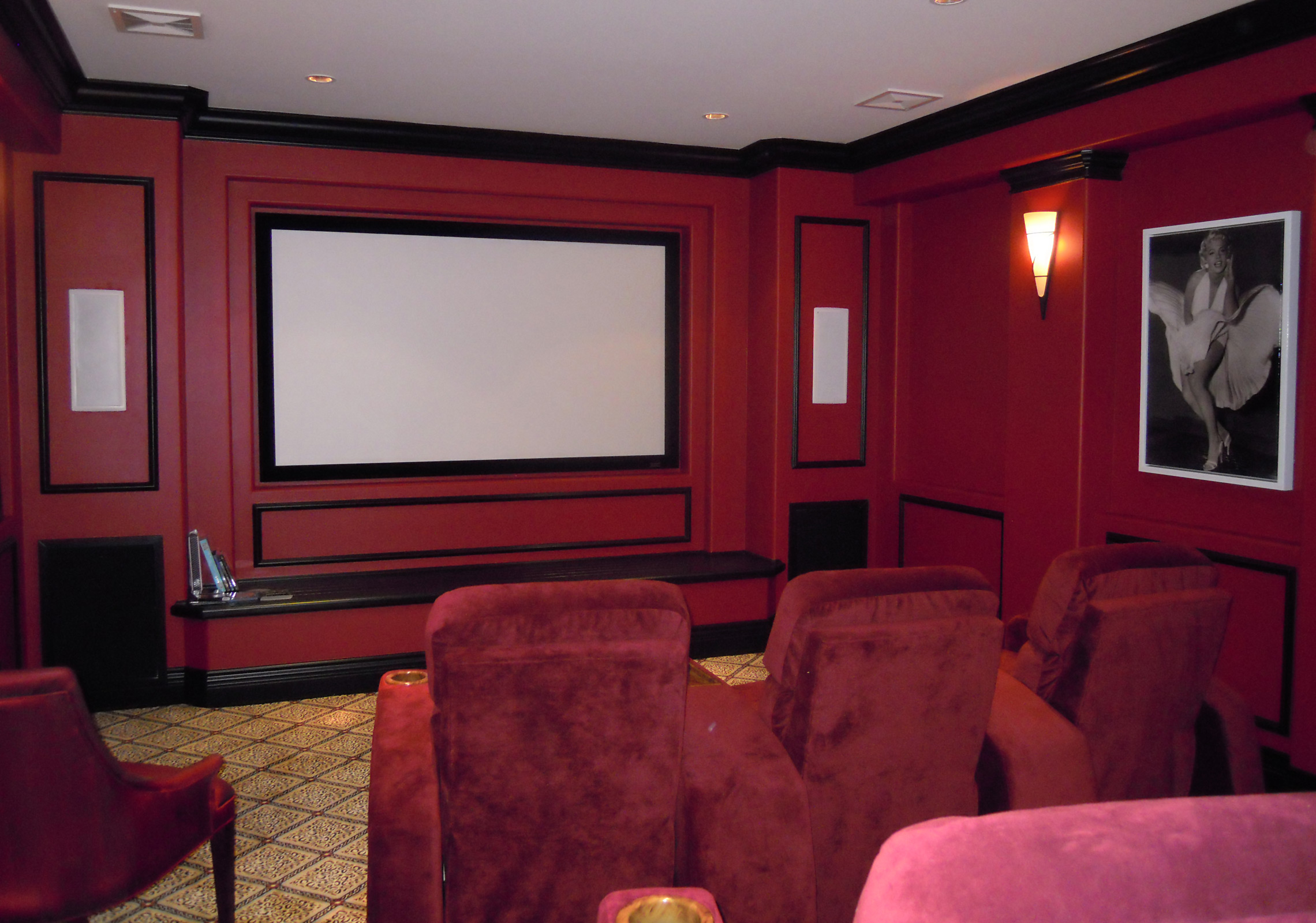 Home Theatre renovation, South Surrey
